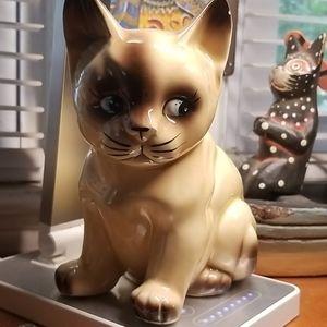 Vintage Japan Ceramic Cat Figurine